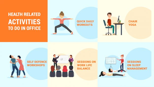 Health related Activities to do in Office - CircleYard